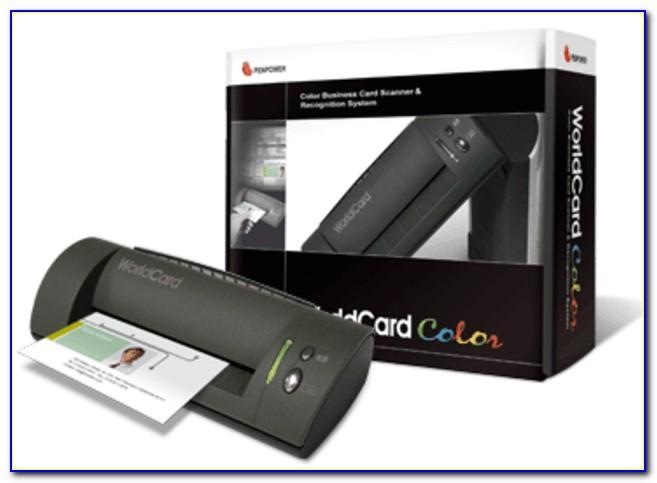 Penpower Worldcard Color Business Card Scanner Driver Download