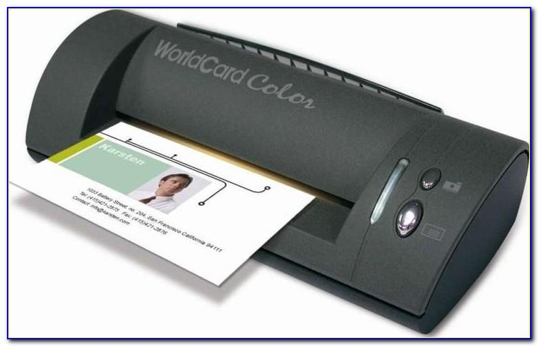 Penpower Worldcard Color Color Business Card Scanner (windows)