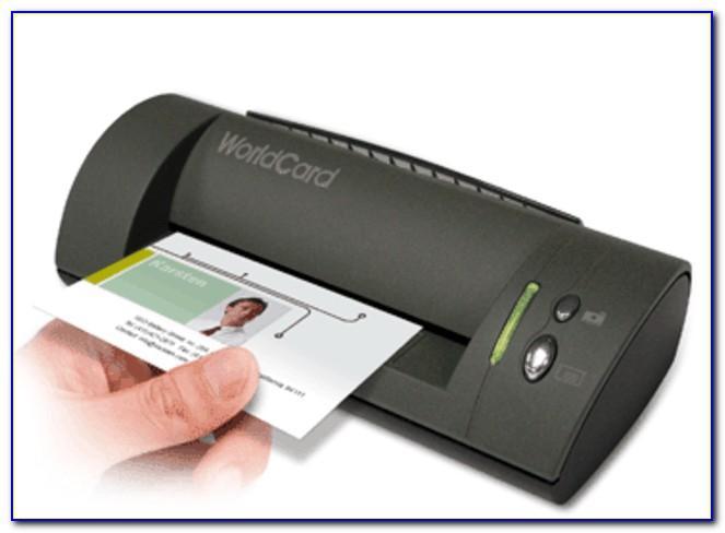 Penpower Worldcard Portable Color Business Card Scanner