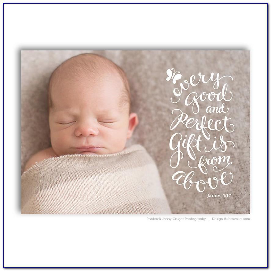 Personalised Birth Announcement Stickers