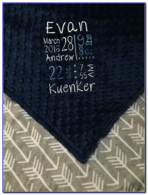 Personalized Stuffed Animal Birth Announcement