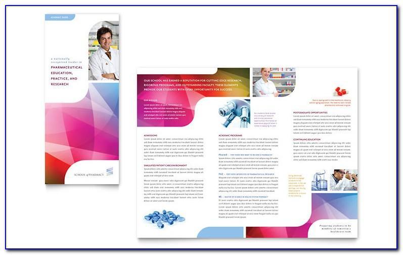 Pharmacy Brochure Design Templates
