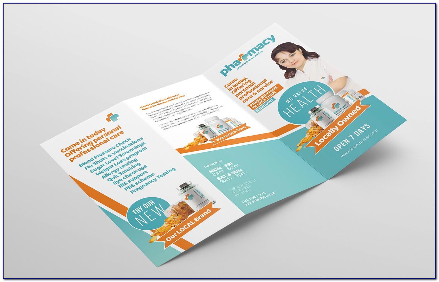 Pharmacy Brochure Layout