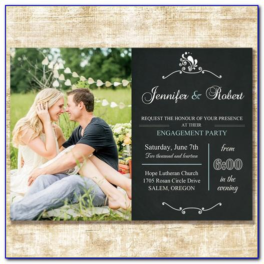 Photo Wedding Announcement Cards