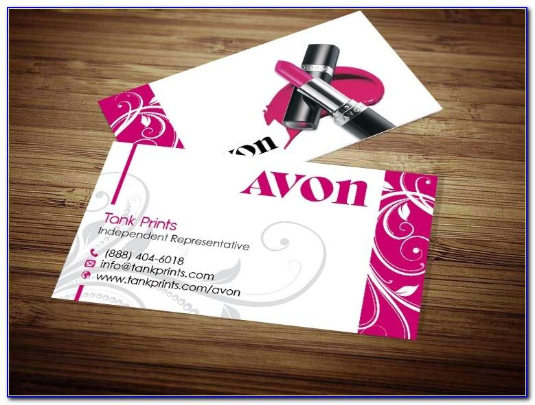 Pink Zebra Consultant Business Cards