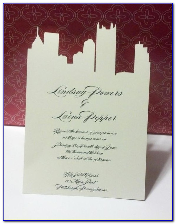 Pittsburgh Wedding Announcements