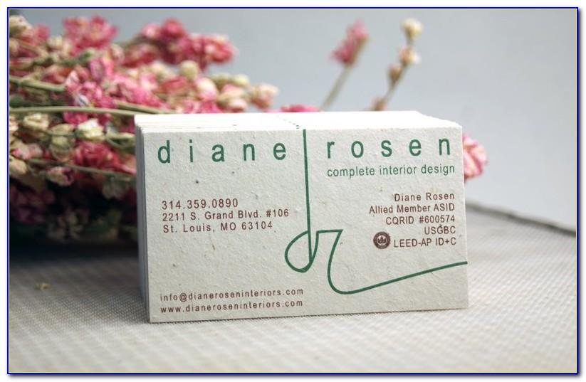 Plantable Business Cards Australia