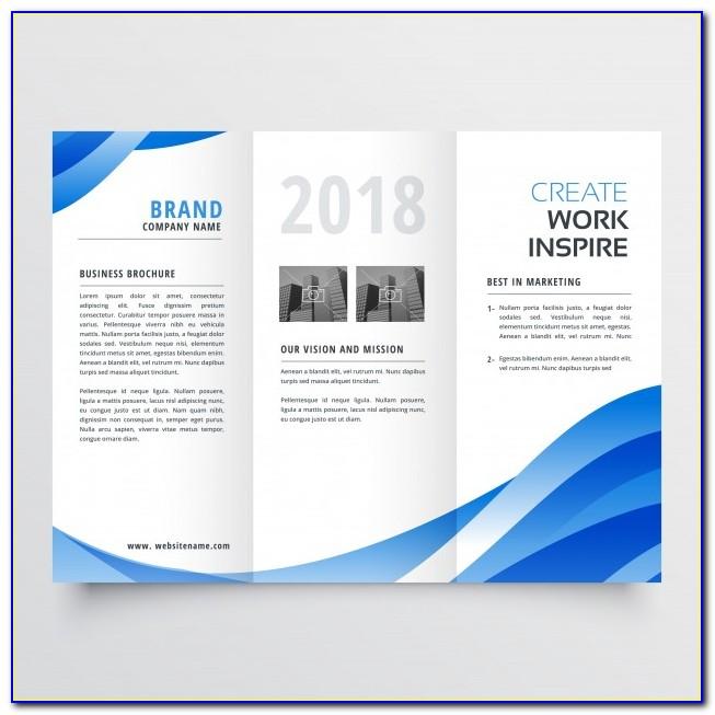 Plantillas Para Brochure Gratis Descargar Word