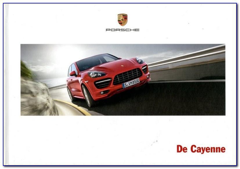 Porsche Cayenne Brochure 2015