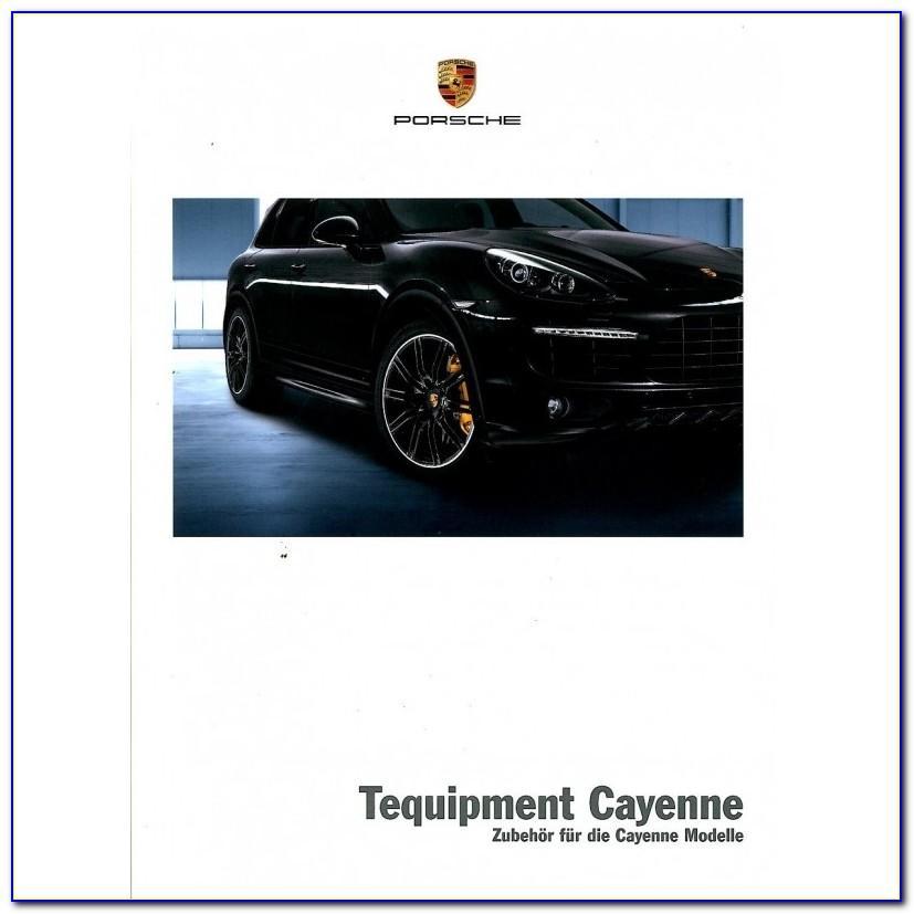 Porsche Cayenne Brochure Download
