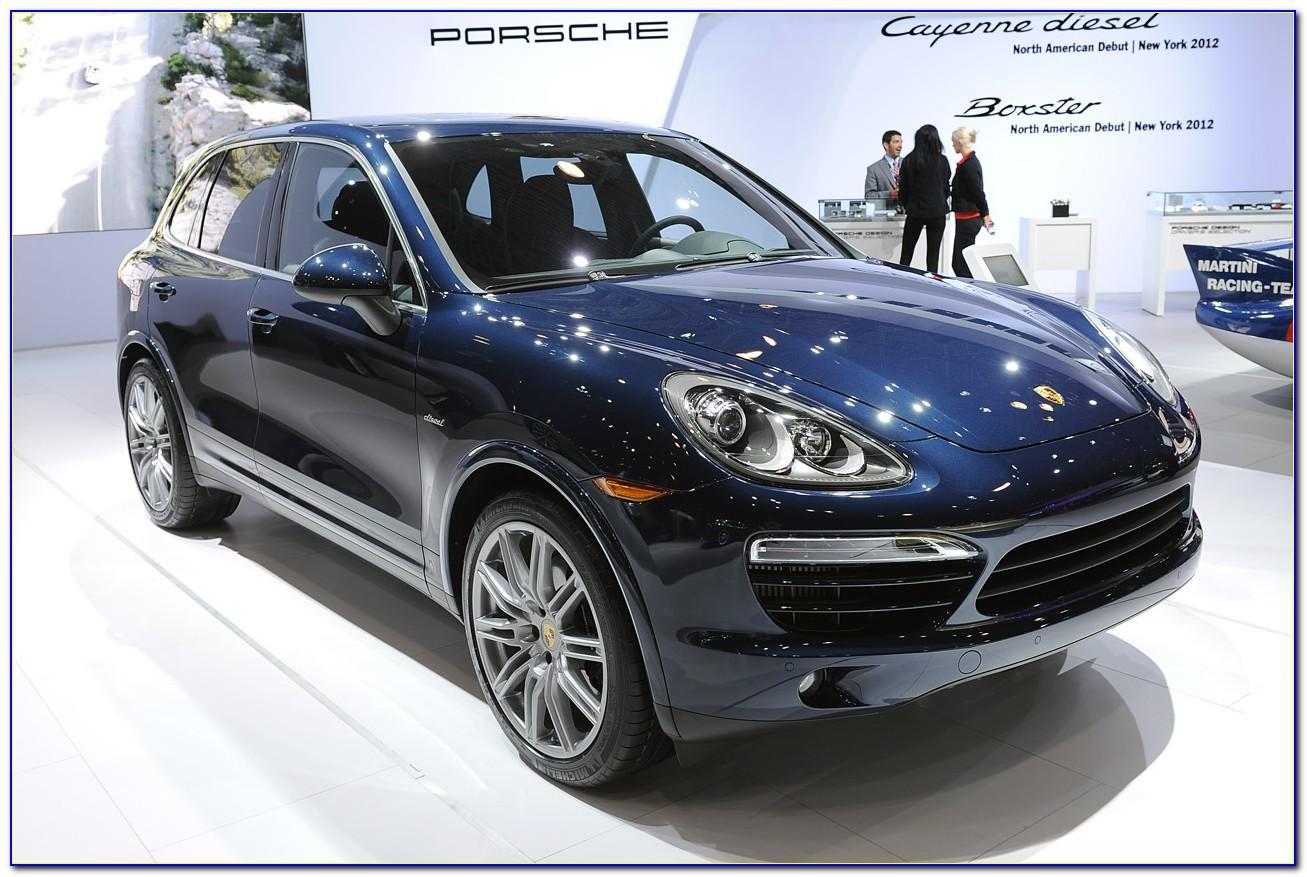 Porsche Cayenne Brochure Uk