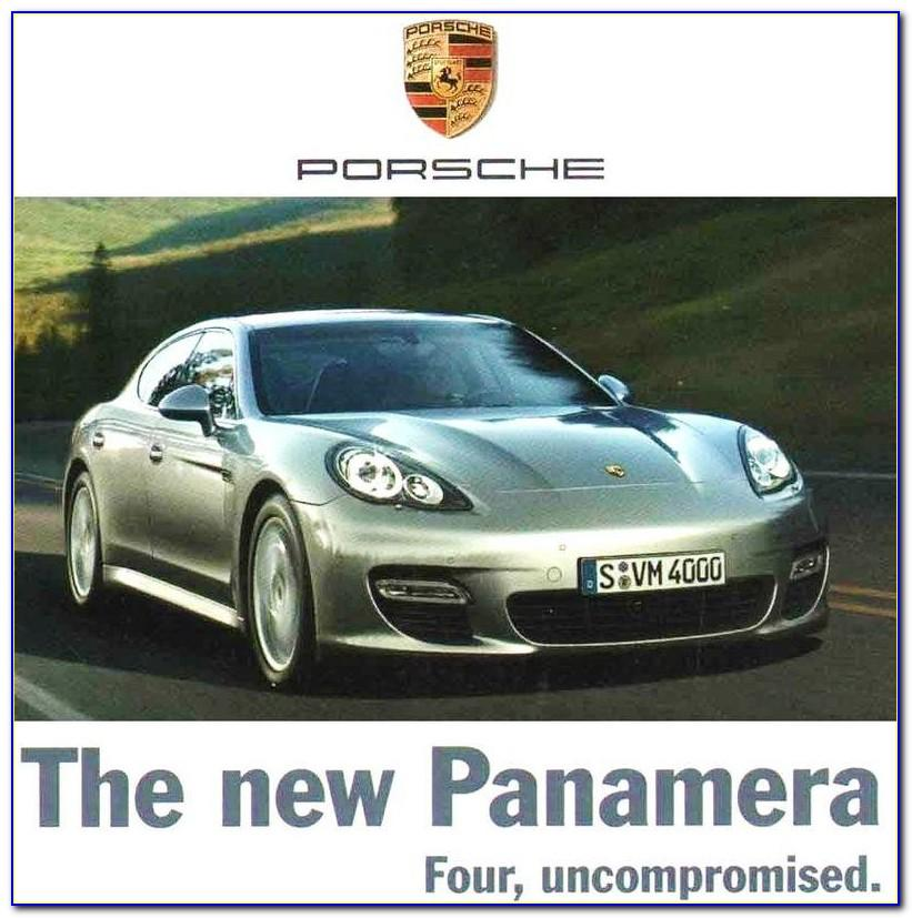 Porsche Cayenne Coupe Brochure