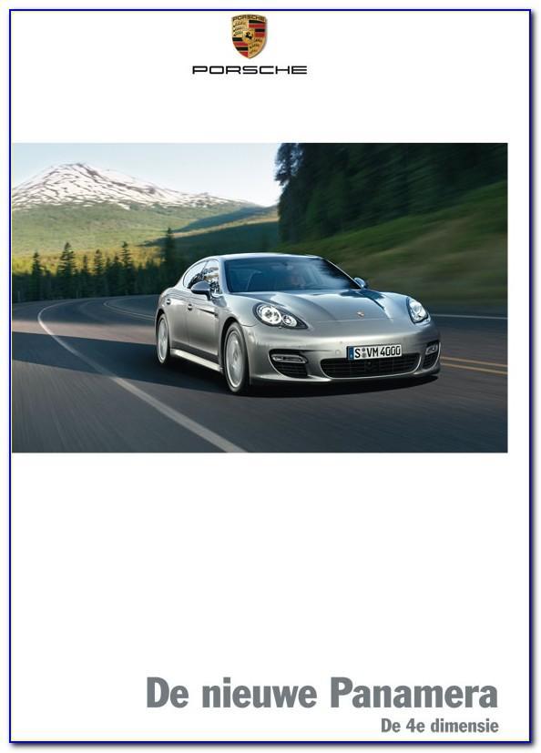 Porsche Panamera Brochure 2018