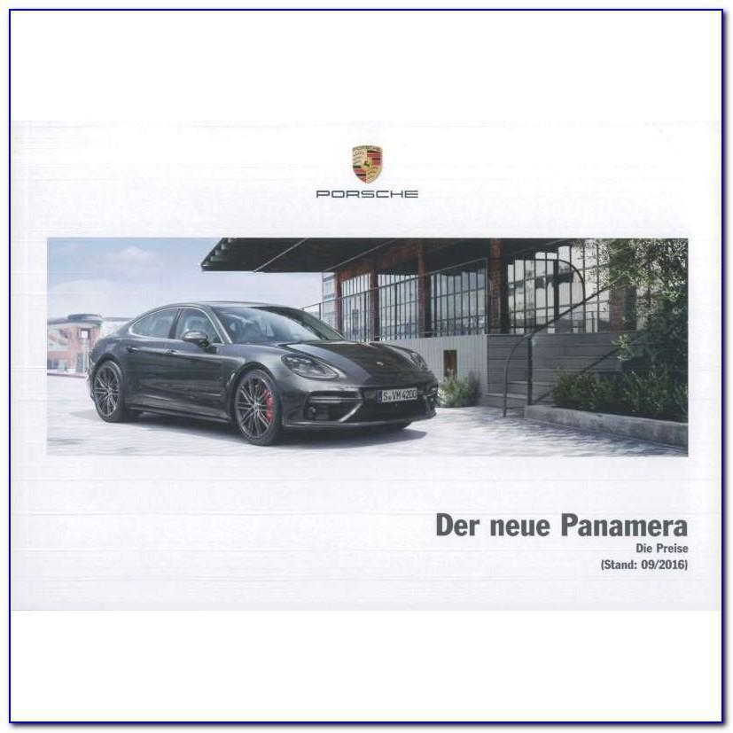 Porsche Panamera Brochure Pdf