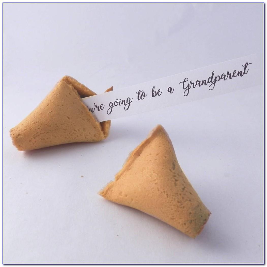 Pregnancy Announcement Fortune Cookies Uk