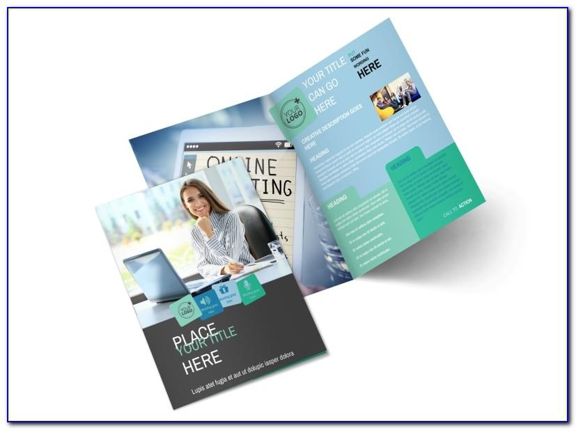 Product Advertising Brochure Template