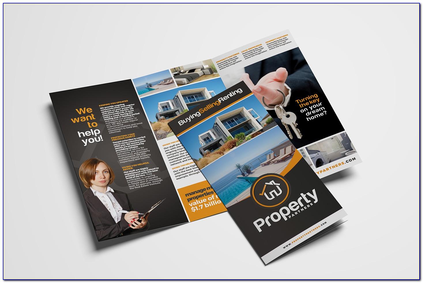 Realtor Tri Fold Brochure