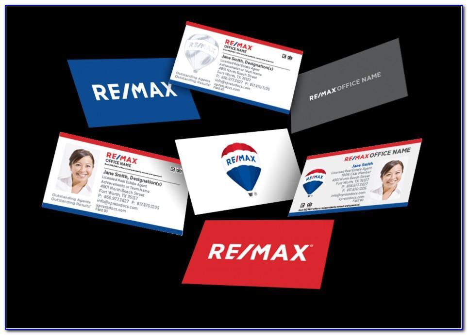 Remax Business Cards Vistaprint