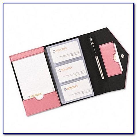 Rolodex Business Card Holder