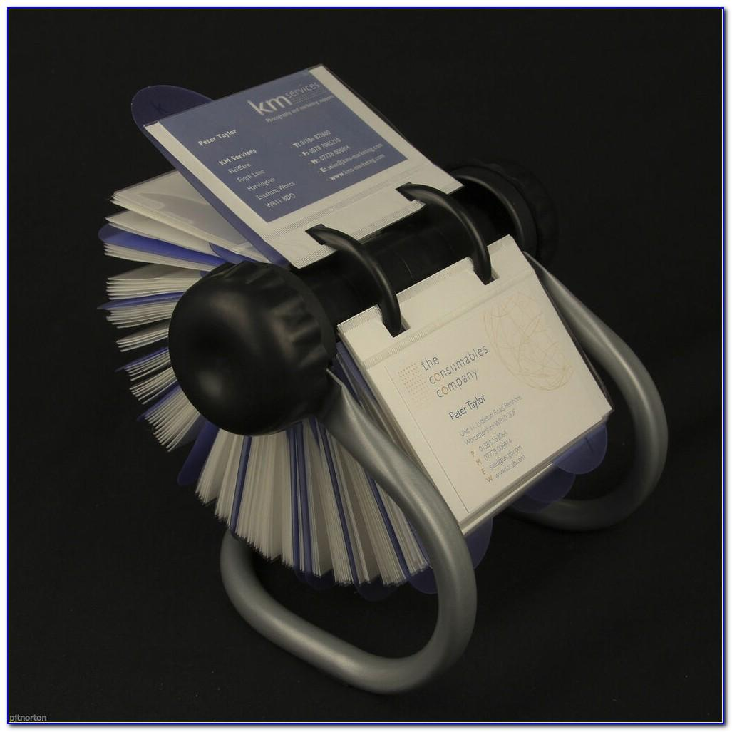 Rolodex Business Card Holders With Slots