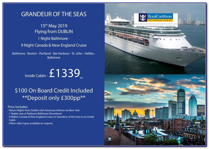 Royal Caribbean Brochure Request