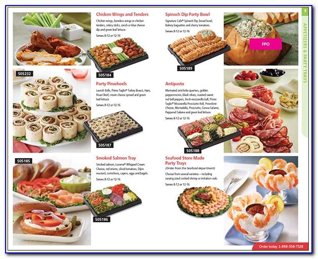 Safeway Deli Trays Brochuresafeway Deli Trays Brochure