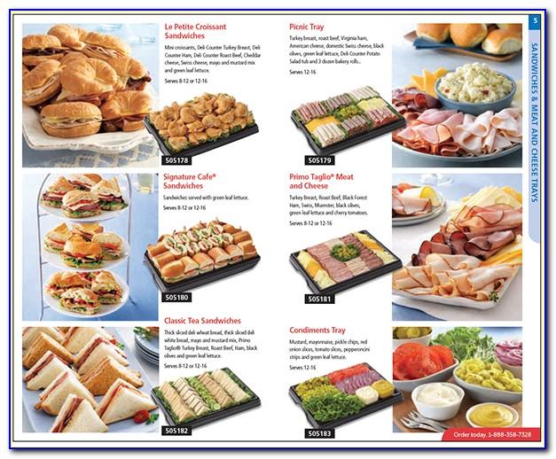 Safeway Party Trays Brochure