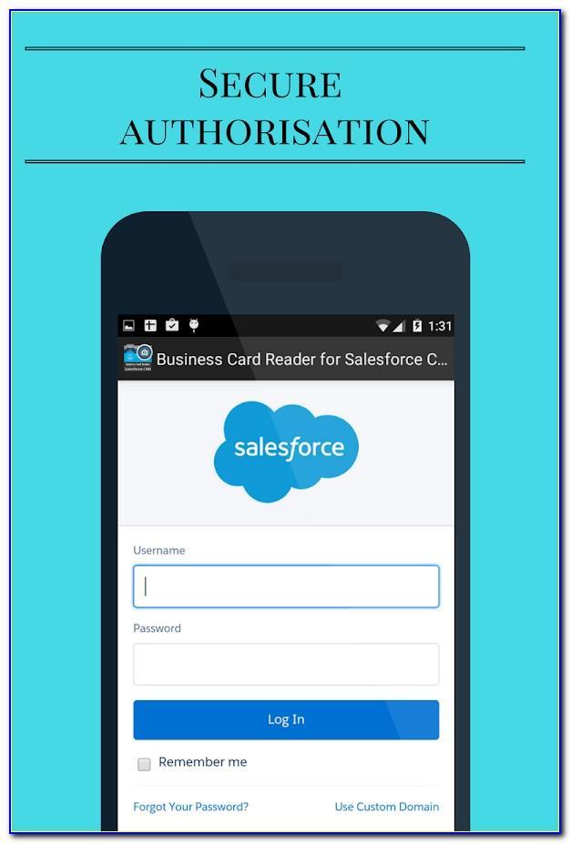 Salesforce Business Card Scanner Free