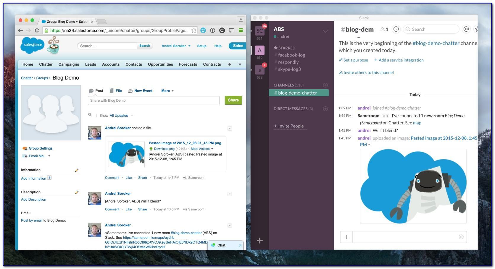Salesforce Chatter Enable Announcements