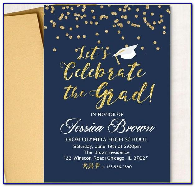 Sample Graduation Party Invitation Wording