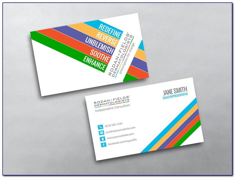 Sample Paparazzi Business Cards