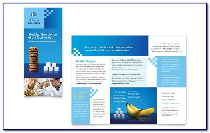 Sample Science Brochure Template