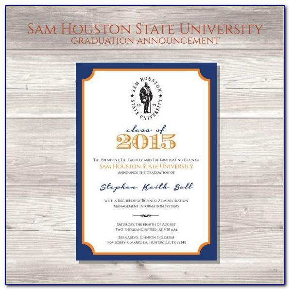 Sams Graduation Announcements