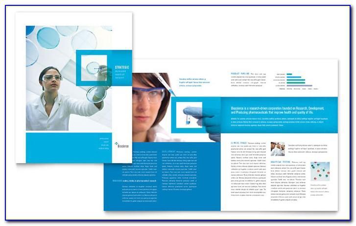 Science Brochure Template Word