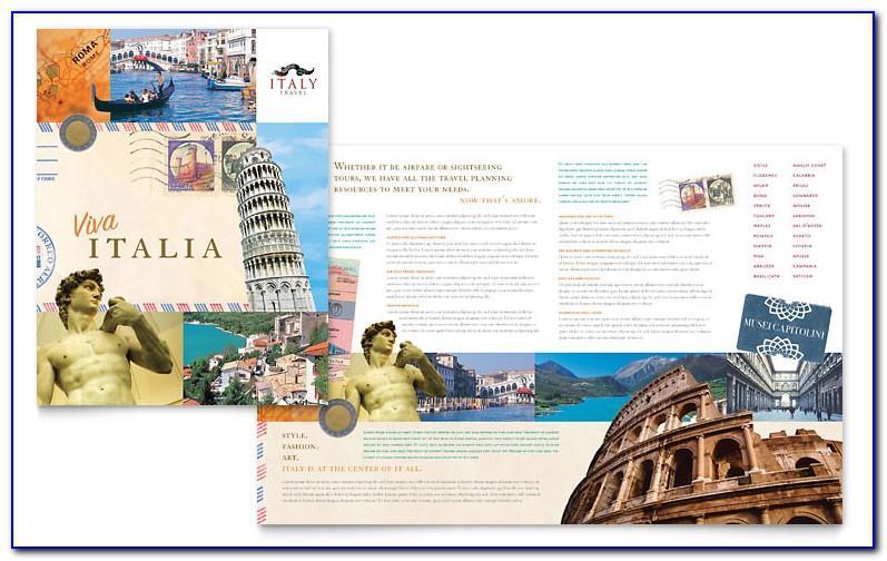Science Theme Brochure Template