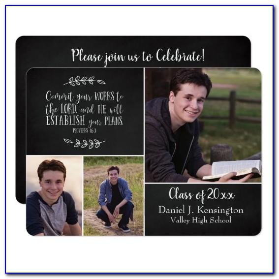 Scripture Verses For Graduation Announcements