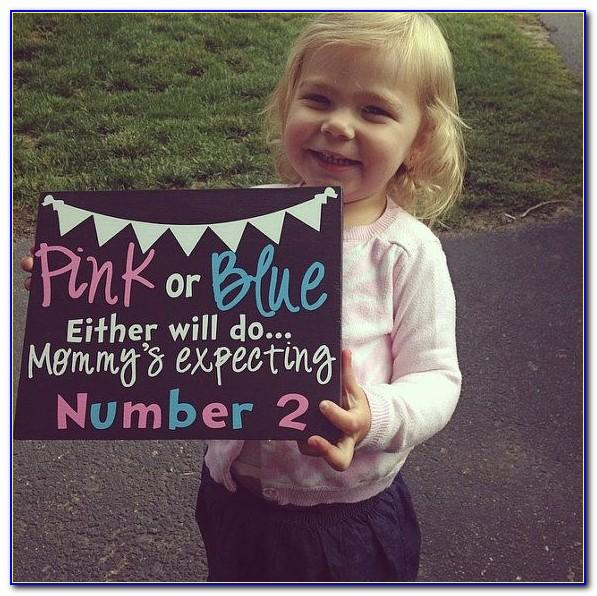 Second Baby Pregnancy Announcement Wording