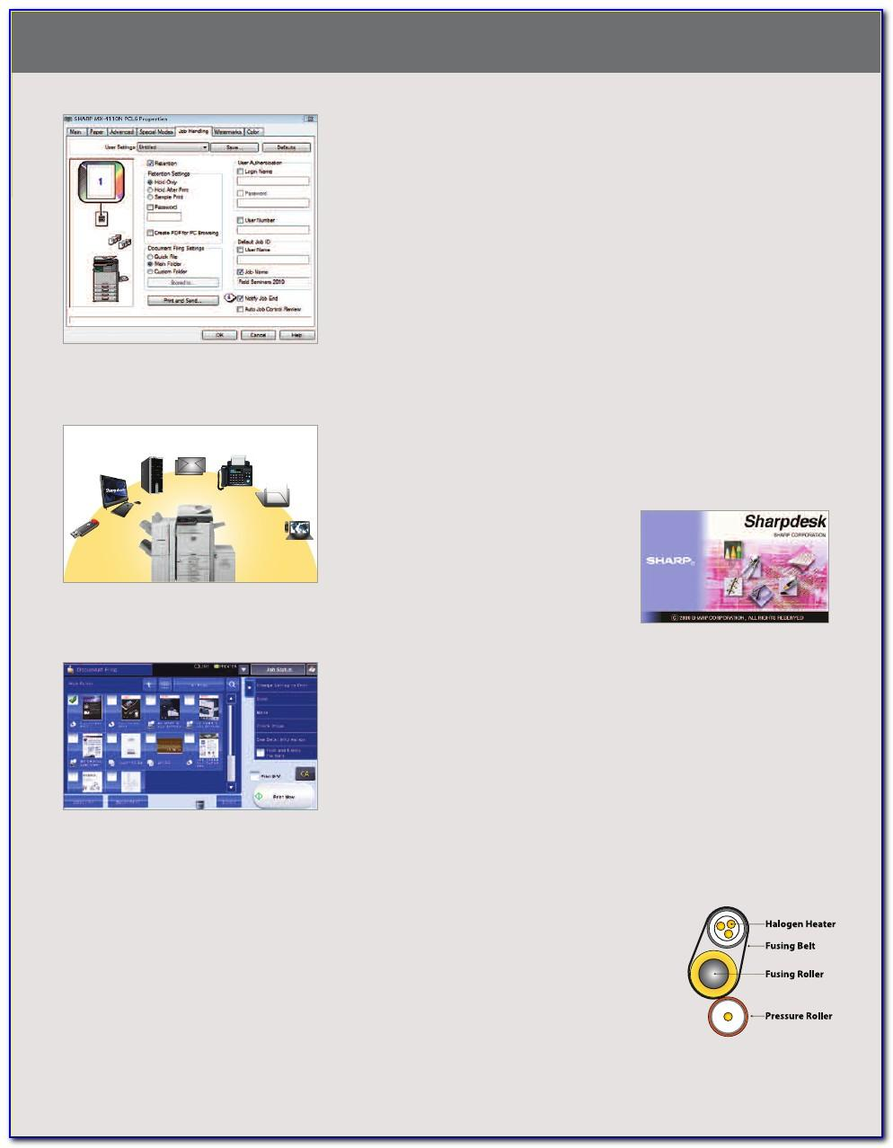 Sharp Mx 5111n Brochure