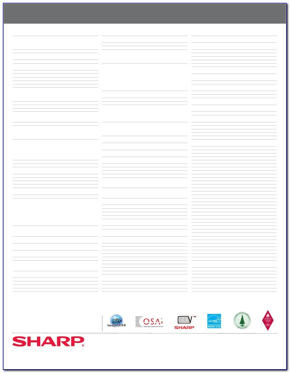 Sharp Mx 5111n Manual