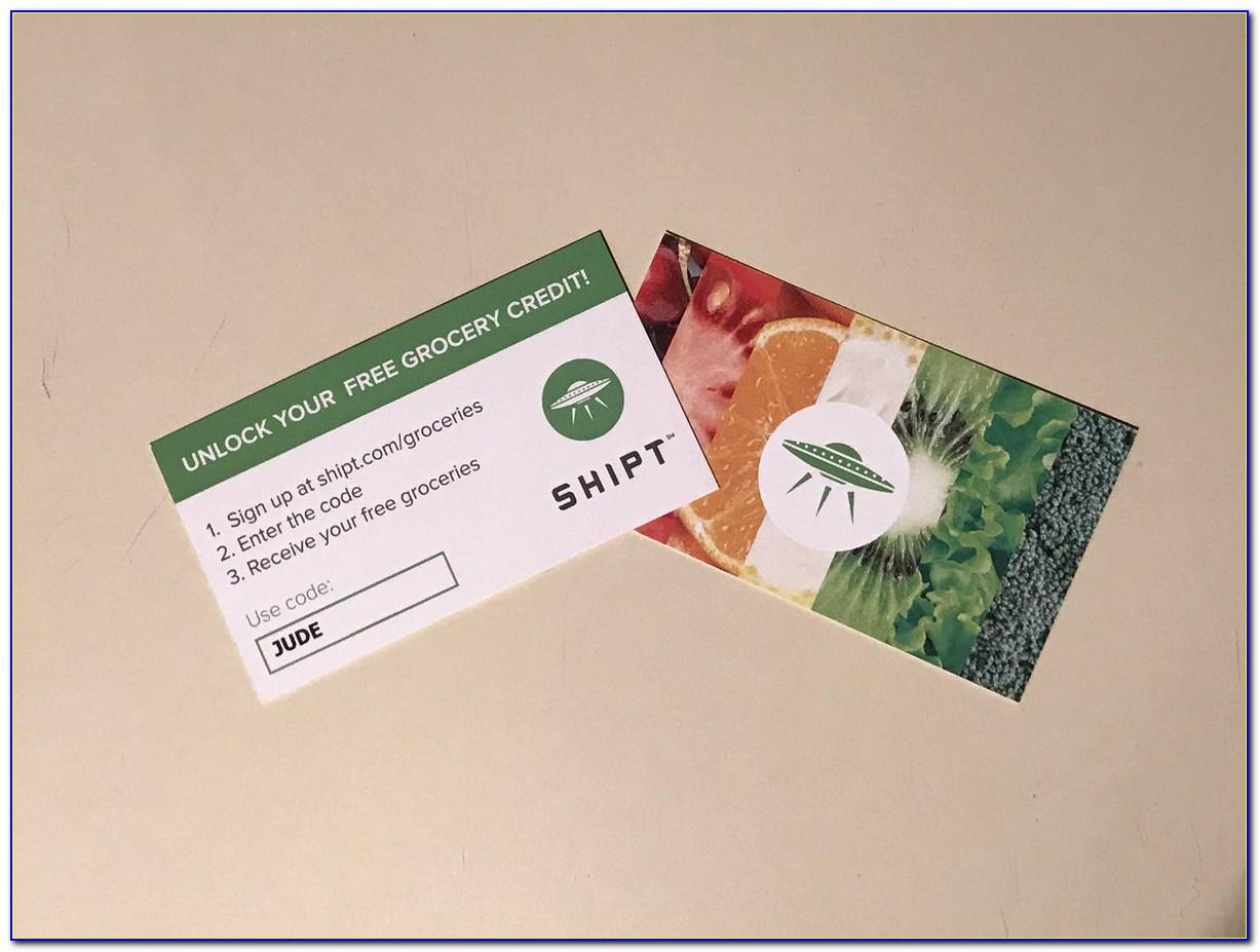 Shipt Business Cards