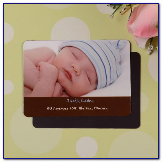 Shutterfly Birth Announcement Magnets