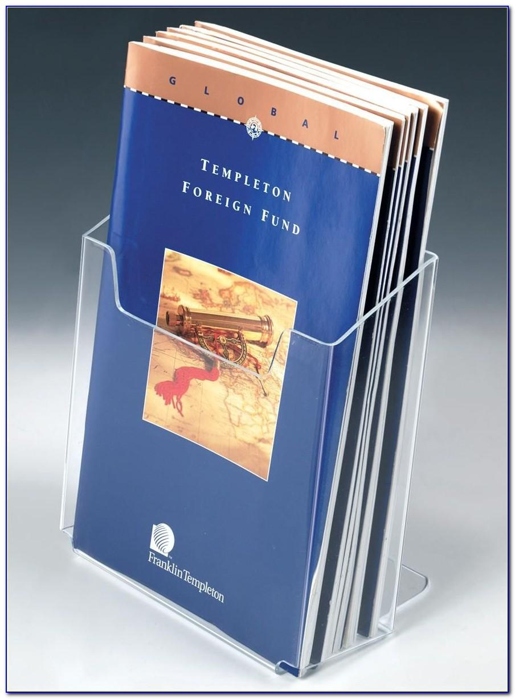 Single Brochure Holder