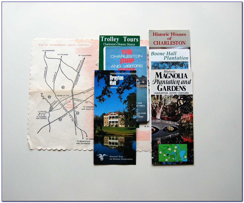 South Carolina Tourism Brochures