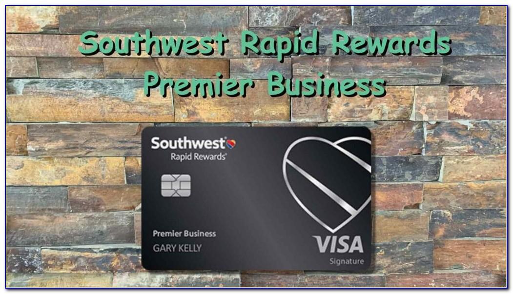 Southwest Rapid Rewards Performance Business Card
