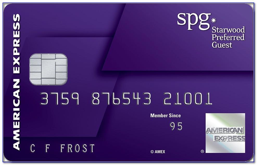 Spg Business Card Free Night