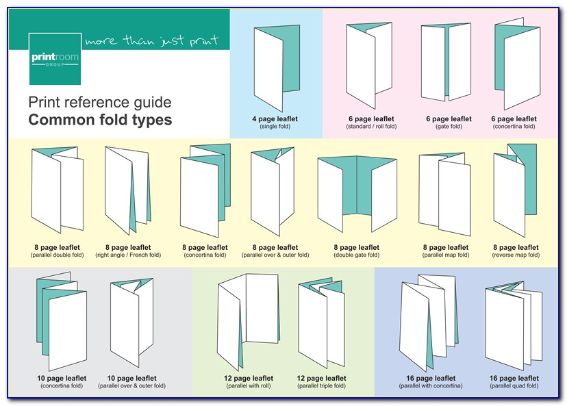 Square Accordion Fold Brochure