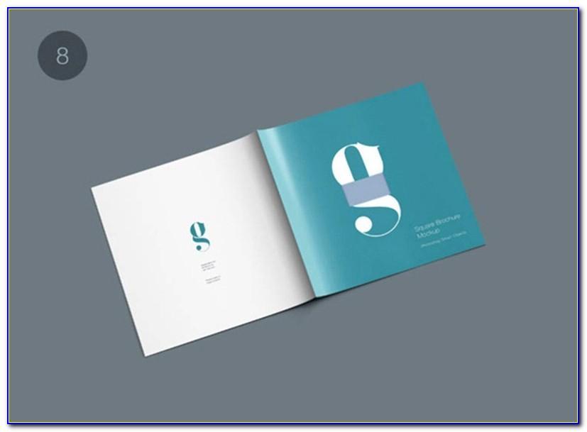 Square Brochure Mockup Vk