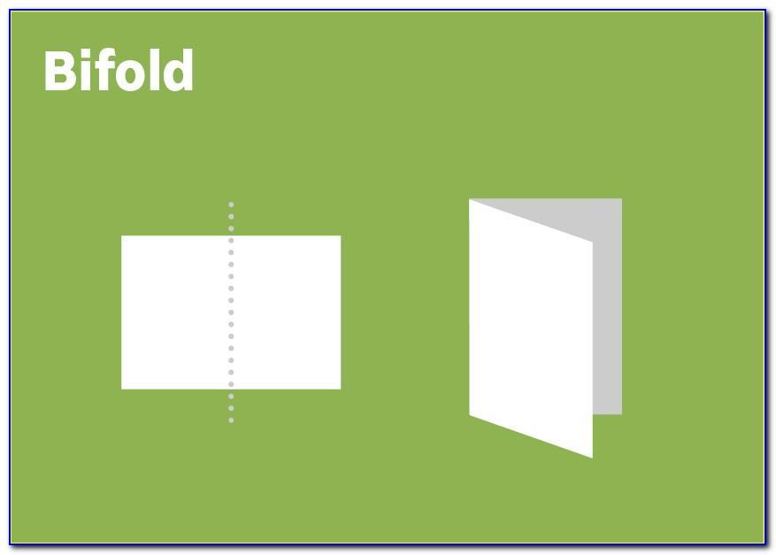Standard Bifold Brochure Size