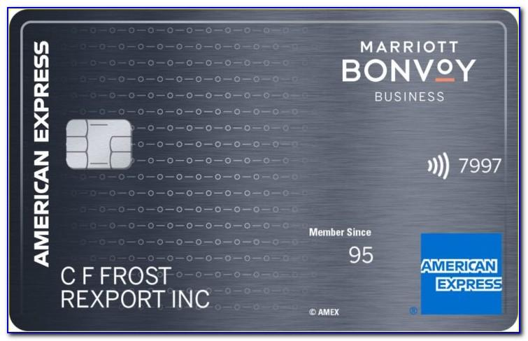 Starwood Business Card American Express