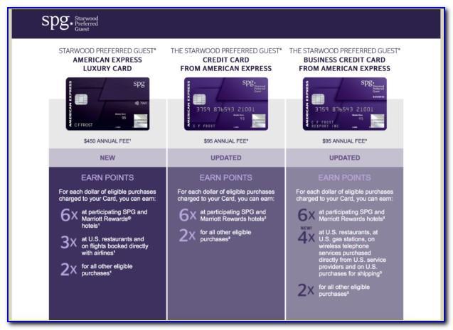 Starwood Business Credit Card